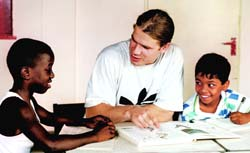 'Teaching these boys is one of the best things I have done in my life.'