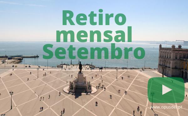 Retiro mensal de setembro em casa em português