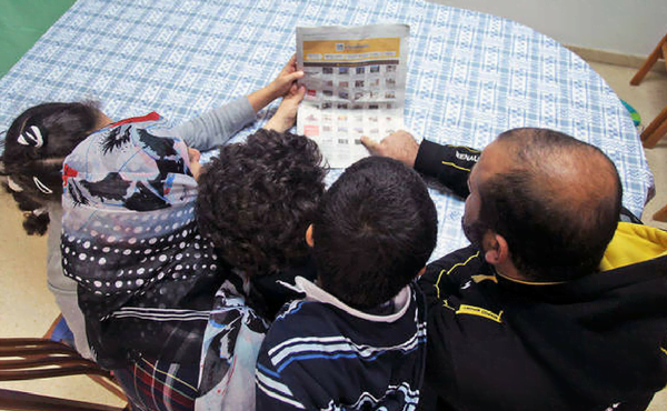 Refugiados en busca de un piso