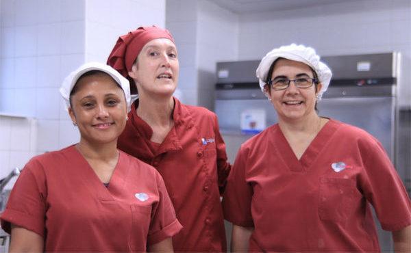 «Querríamos ser las tres reinas magas de la cocina»