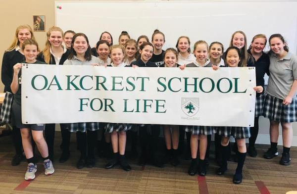 Opus Dei - Oakcrest To Lead 47th Annual March for Life