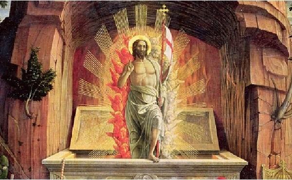 基督的復活:教會訓導,聖人