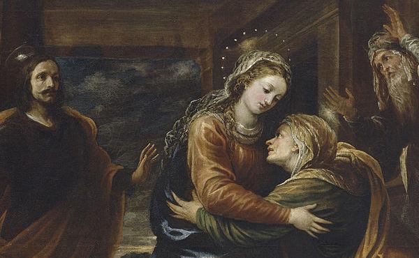 La Visitación de la Virgen María a su prima Santa Isabel