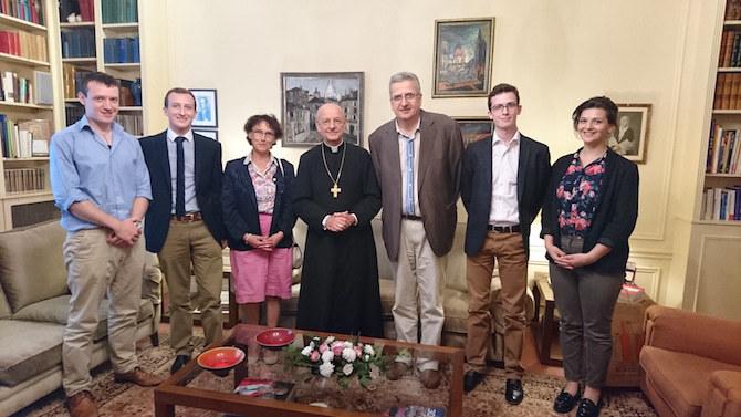 Opus Dei - Mgr Ocariz rencontre des familles (4 août)