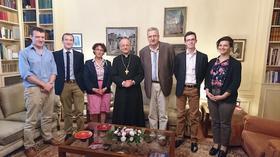Mgr Ocariz rencontre des familles (4 août)