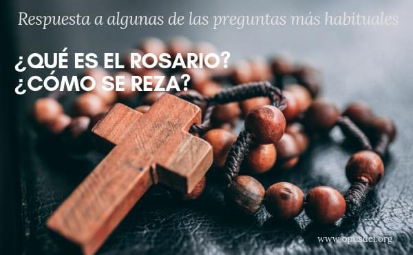 ¿Qué es el Rosario? ¿Cómo se reza?