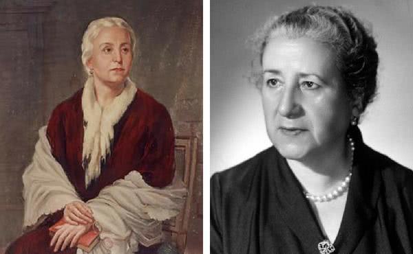 Dona Dolores e Cármen Escrivá
