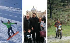 Il sacerdozio: pugilato, triathlon e molto kitesurf
