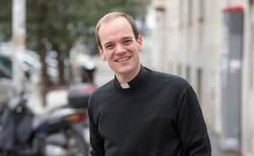 Luis, sacerdote desde el 5 de mayo y «un pirao de que la gente sea muy libre y tremendamente diferente»