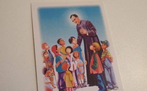 给儿童的圣施礼华代祷卡