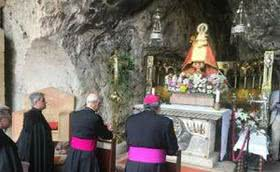 Mass Celebrated at the Covadonga Shrine