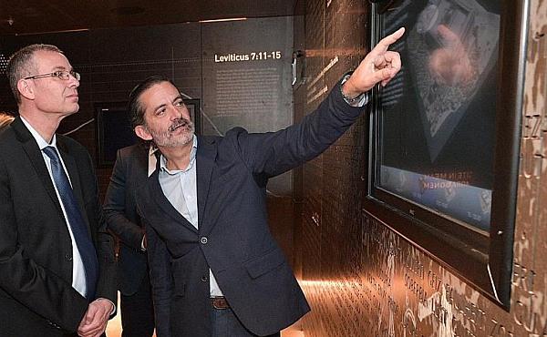Opus Dei - Über die Eröffnung des Besucherzentrums Saxum in Abu Gosch