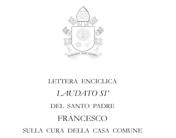 """Opus Dei - Enciclica Laudato si': """"I sacramenti, la natura e Dio"""""""