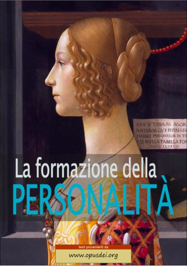 La formazione della personalità