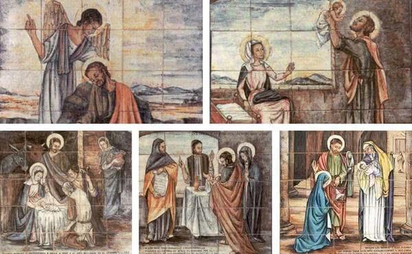 Bolesti a radosti svätého Jozefa
