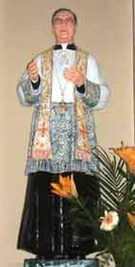Imagem de São Josemaria na Catedral de Nova Deli