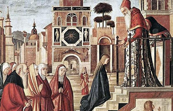 November 21: Presentation of Our Lady