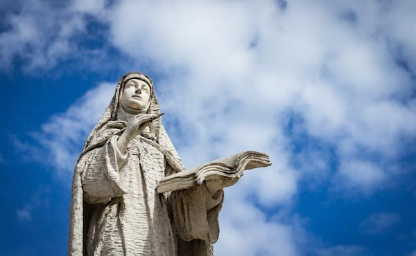Sainte Thérèse d'Avila et saint Josémaria Escriva