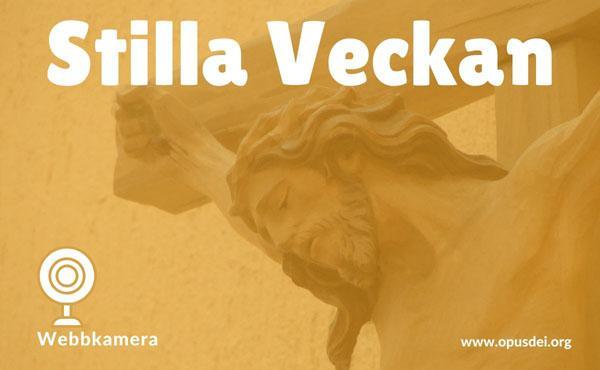 Opus Dei - Webbkamera: Inför den korsfäste - intill den helige Josemarías grav