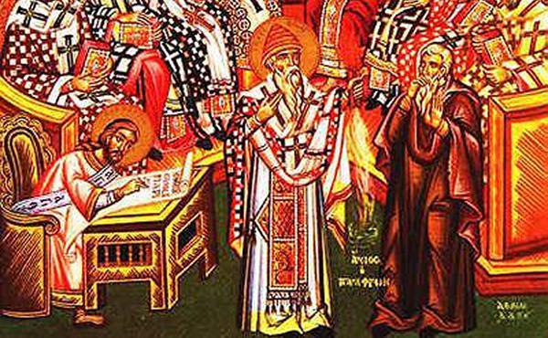 53. Què va succeir en el Concili de Nicea?