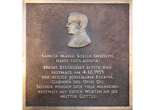 """Opus Dei - Stephansdom: """"Heilige Maria, Stern des Ostens, hilf deinen Kindern"""""""
