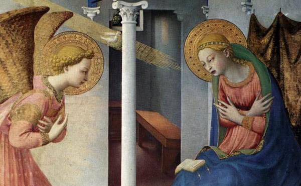 Opus Dei - Marias adventlicher Blick nach innen