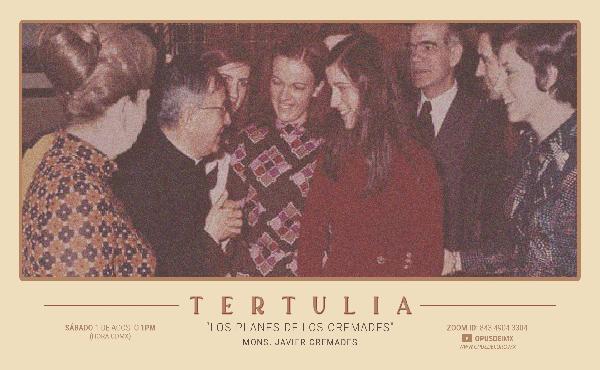 """Opus Dei - Presentación del libro """"Los planes de los Cremades: una familia amiga de san Josemaría"""""""