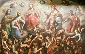 """My good friends the souls in purgatory"""