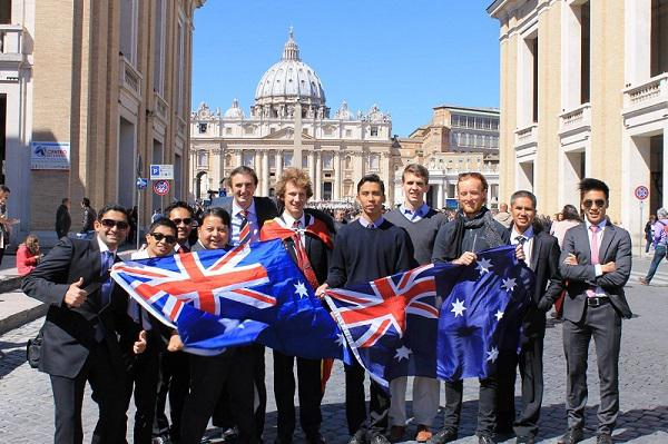 Opus Dei - From Sydney to Rome and the Holy Land – UNIV 2014