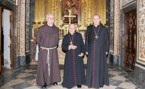 Un cuadro de san Josemaría para Guadalupe