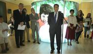 Celebrada la inauguración de la exposición 'Un santo en Datos'