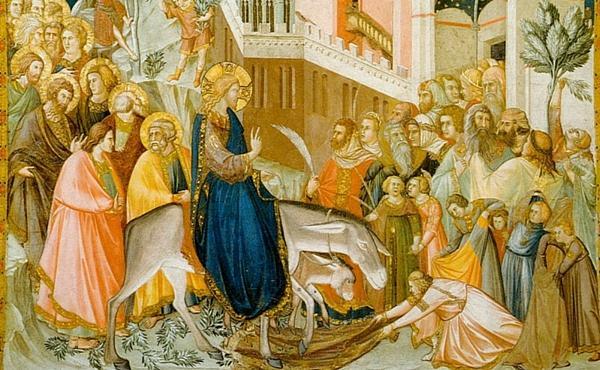 Opus Dei - Domingo de Ramos: Jesus entra em Jerusalém