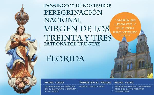 Opus Dei - Los obispos del Uruguay invitan a peregrinar al Santuario de la Virgen de los Treinta y Tres