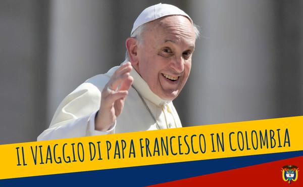 Viaggio apostolico di papa Francesco in Colombia