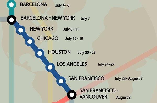 Upcoming Pastoral Trips of the Prelate