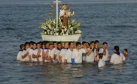 Virgen del Carmen, devoción de mar abierto