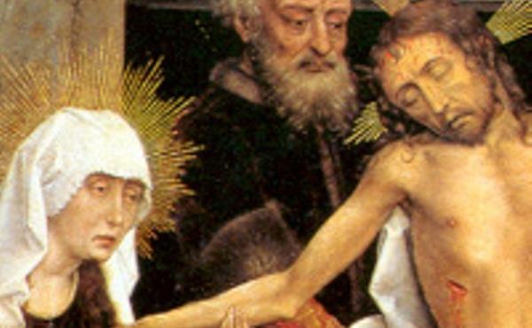 埋葬基督:教會訓導,聖人