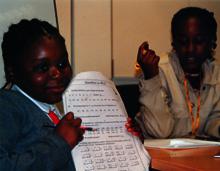 En Kenia, han organizado diversas actividades educativas y de promoción humana.