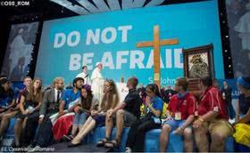 教宗致函世青節:年輕人要勇敢,不要躲在顯示器後面