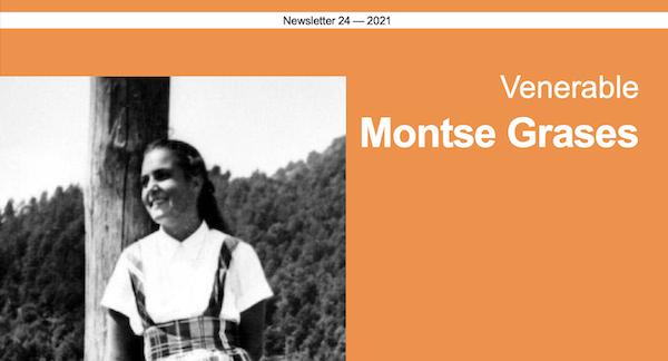 Venerable Montse Grases: 2021 Newsletter