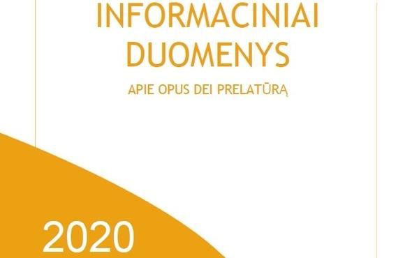 Informaciniai duomenys apie Opus Dei (2020)