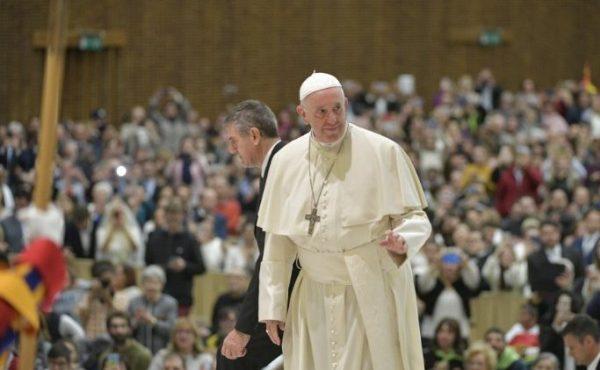 教宗公开接见:我们应向耶稣学习祈祷