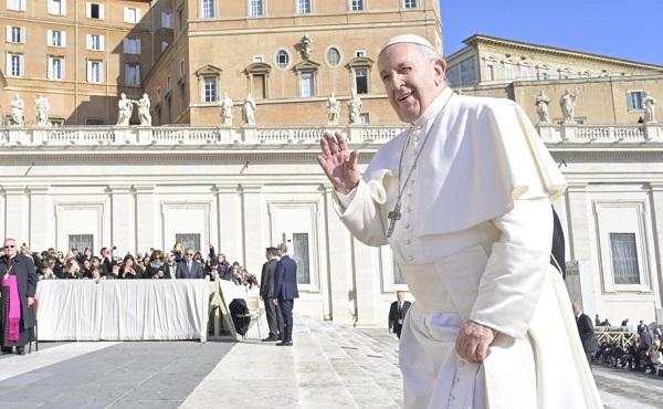 Opus Dei - 教宗公开接见:天主的风格是温柔的