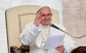 教宗方济各邀请为中国天主教徒祈祷