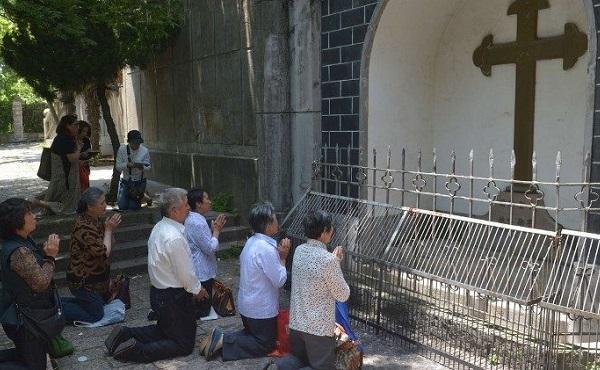 教宗方济各为在中国的信友祈祷