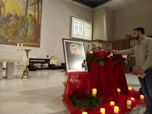 ذخائر القديس خوسيماريا في رعية مار يوحنا المعمدان -عشقوت
