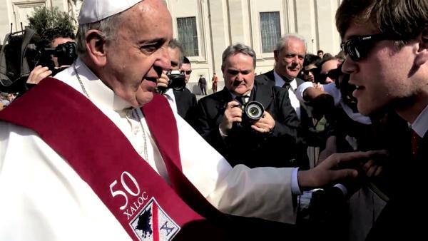 Papa Francisco, ¡celebramos 50 años!
