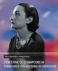 Poeta eta Opus Deiko kidea zena Ernestina de Champourcin–aren mendeurrena betetzen da aurten