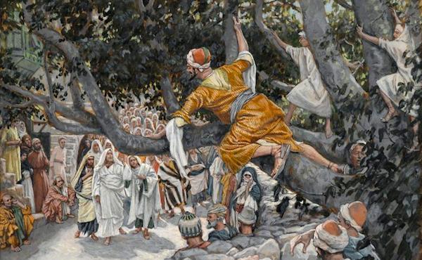 Commentaire d'Évangile: Zachée