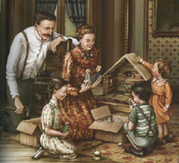 Wie der kleine Josefmaria mit seiner Familie Weihnachten feierte